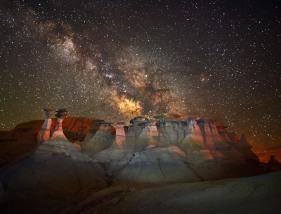 Bisiti Badlands, New Mexico