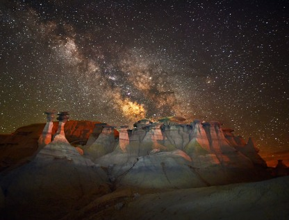 Bisiti Badlands, New Mexico